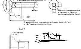 طراحی پیچ و مهره استاندارد